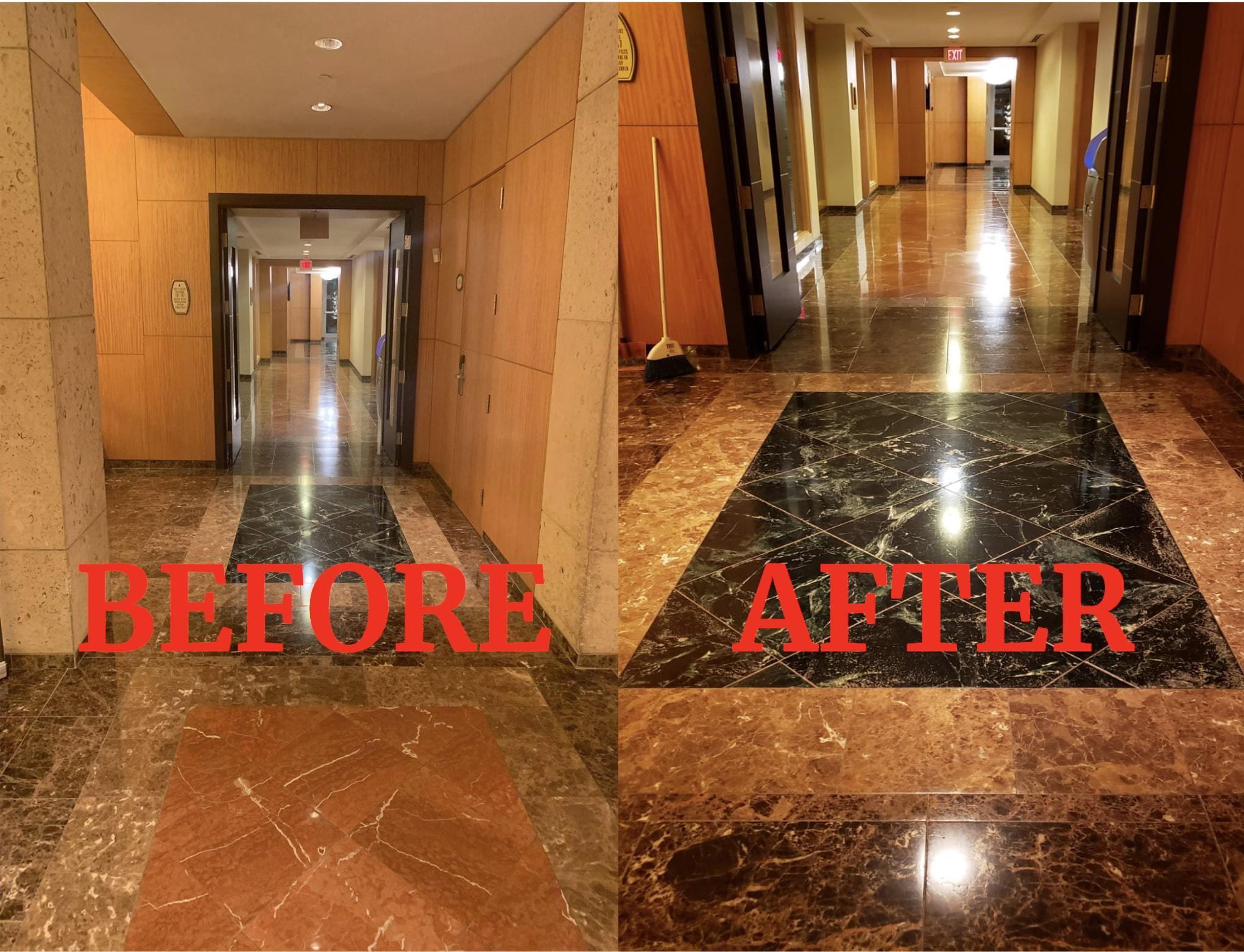 condo building cleaning services